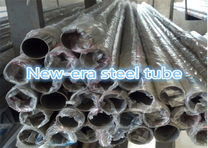 Round 2 Inch Polished Stainless Steel Pipe For Heat Exchangers / Condensers